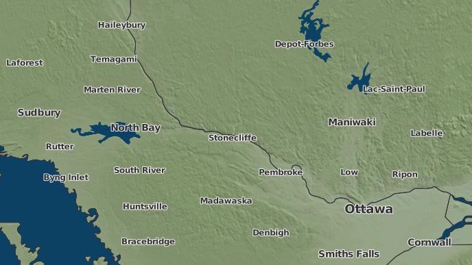 pour Radiant, Ontario