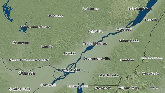 for Sainte-Ursule, Quebec