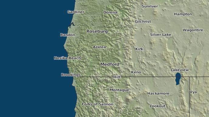 3 Day Severe Weather Outlook Merlin Oregon The Weather Network