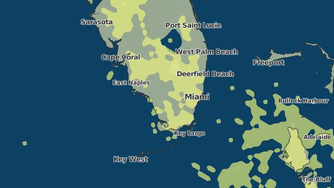 Miami Springs Florida Map.3 Day Severe Weather Outlook Miami Springs Florida The Weather