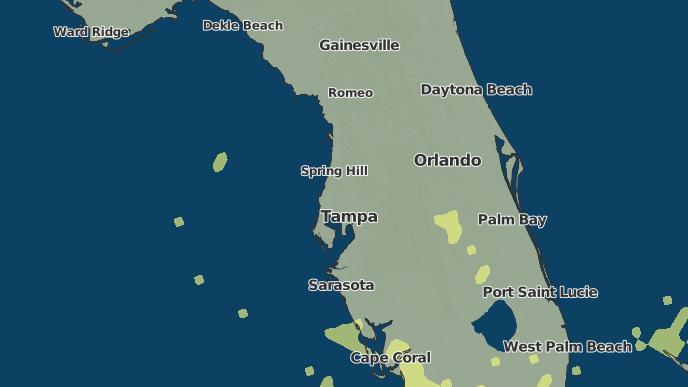Tarpon Springs Florida Map.3 Day Severe Weather Outlook Tarpon Springs Florida The Weather