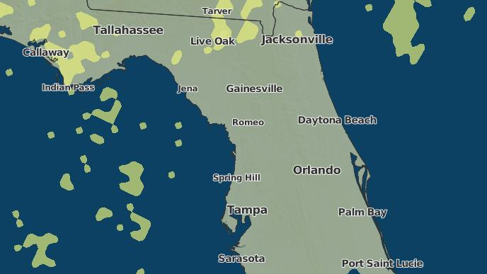Summerfield Florida Map.3 Day Severe Weather Outlook Summerfield Florida The Weather Network