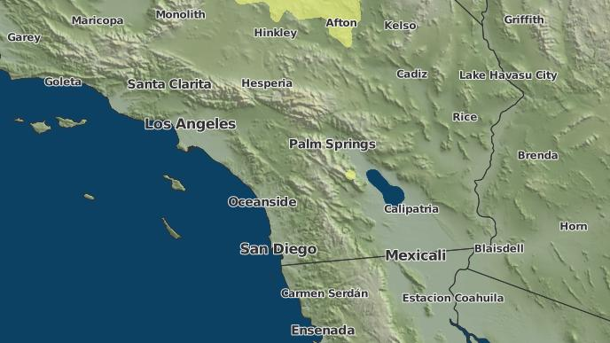 3-Day Severe Weather Outlook: Indio, California - The Weather Network