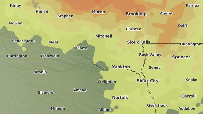 for Parkston, South Dakota