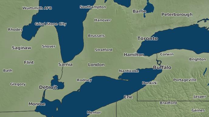 pour Four Ponds Corners, Ontario