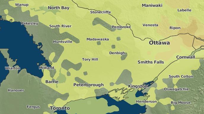pour Mississagua Landing, Ontario