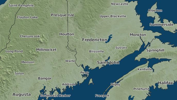 pour Acton, Nouveau-Brunswick