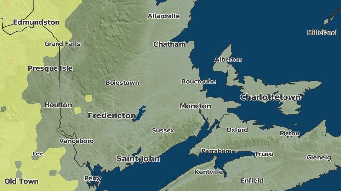pour Wheaton Settlement, Nouveau-Brunswick