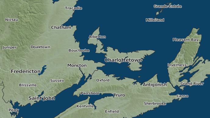 pour Argyle Shore, Île-du-Prince-Édouard