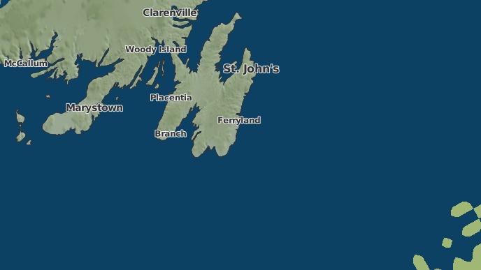 for West Landing, Newfoundland and Labrador