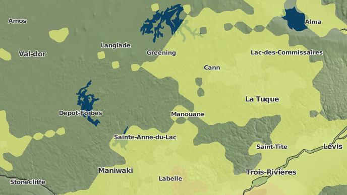 for Lac-Oscar, Quebec