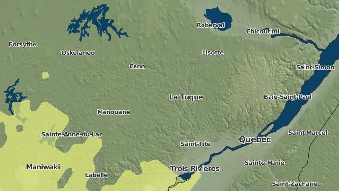 for La Tuque, Quebec