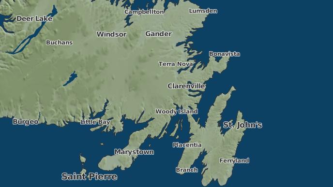 pour Arnolds Cove Station, Terre-Neuve-et-Labrador