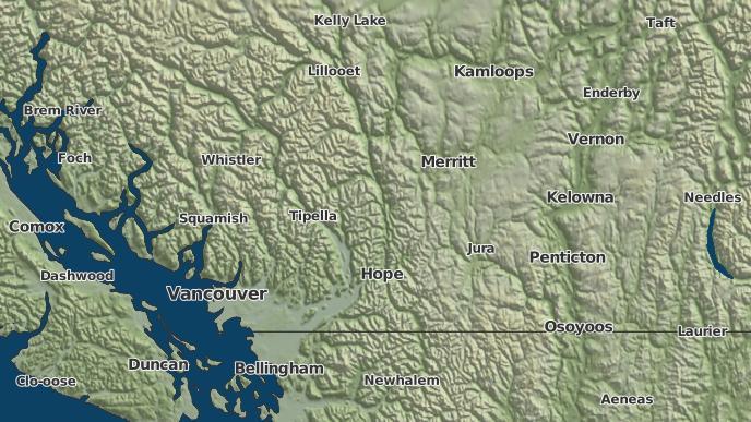 for Papsilqua 2A, British Columbia