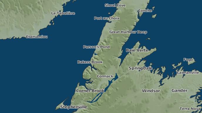 pour Norris Point, Terre-Neuve-et-Labrador