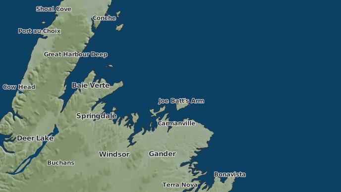 for Twillingate, Newfoundland and Labrador
