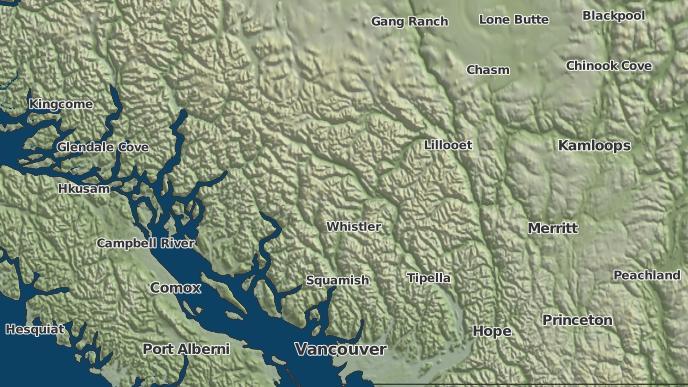 for Sproatt, British Columbia