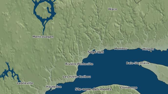 for Sept-Îles, Quebec