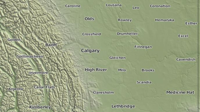 for Standard, Alberta