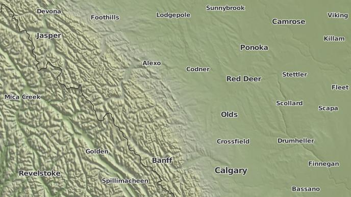 pour Stauffer, Alberta