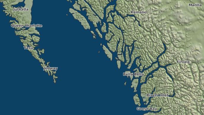 for Gander Island 14, British Columbia