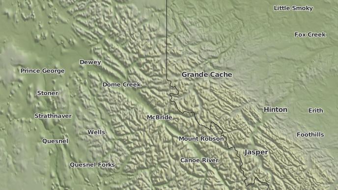 pour Crescent Spur, Colombie-Britannique