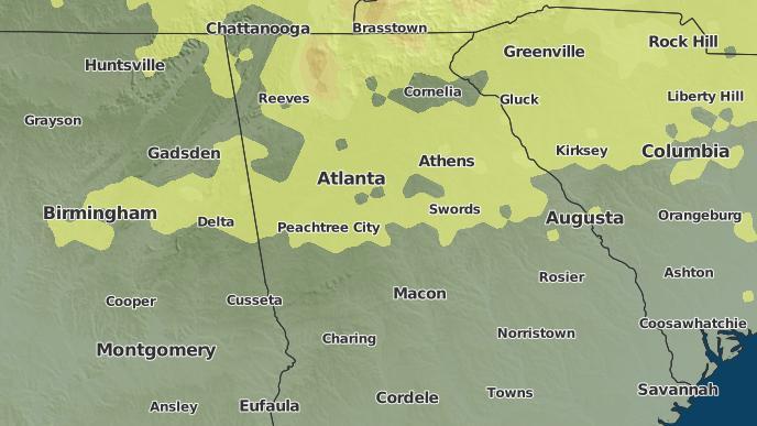pour Atlanta, Géorgie