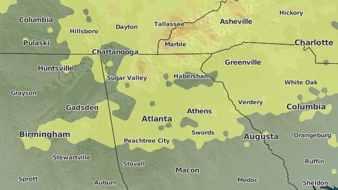 pour Atco, Géorgie