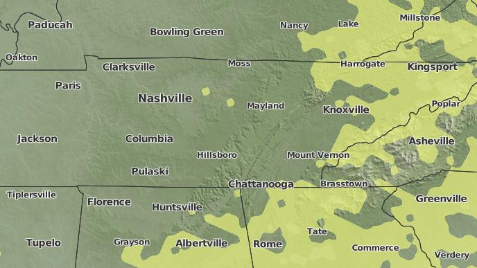 Weather today in murfreesboro tn