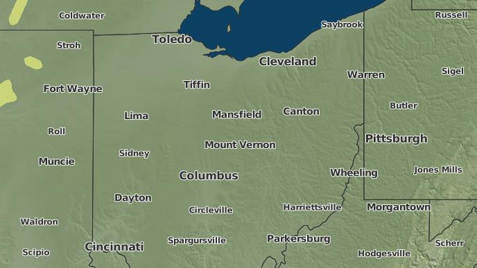 Ashley Ohio Map.3 Day Severe Weather Outlook Ashley Ohio The Weather Network