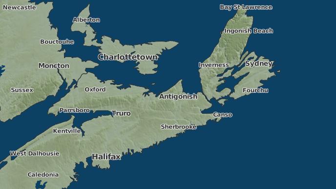 for Guysborough, Nova Scotia