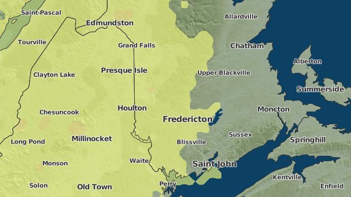 pour Valley, Nouveau-Brunswick