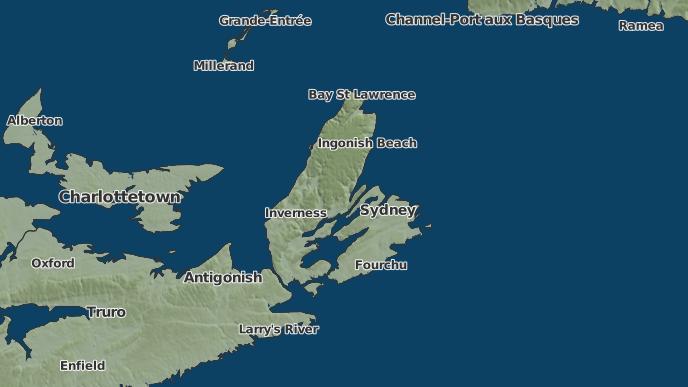 for Sydney, Nova Scotia