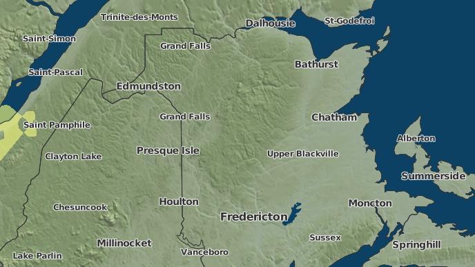 pour Quaker Brook, Nouveau-Brunswick