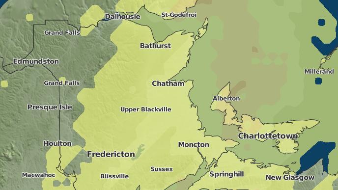 pour Millerton, Nouveau-Brunswick
