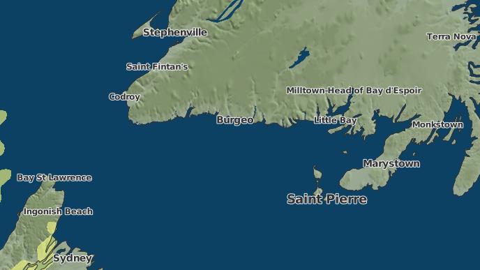 for Upper Burgeo, Newfoundland and Labrador