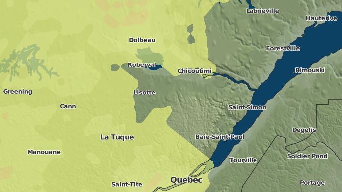 pour Belle-Rivière, Québec