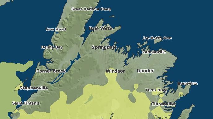 pour Northern Arm, Terre-Neuve-et-Labrador