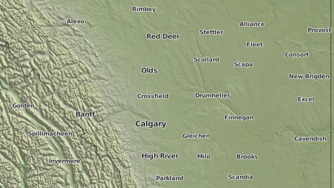 pour Airdrie, Alberta