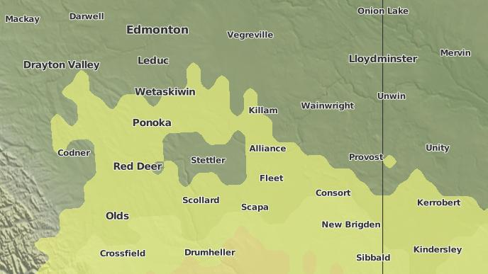 pour Alliance, Alberta