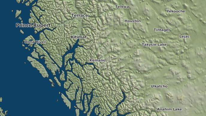 for Kemano 17, British Columbia