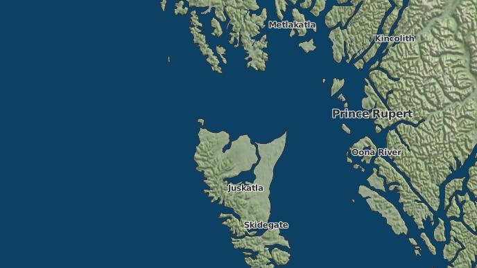 for Masset 1, British Columbia