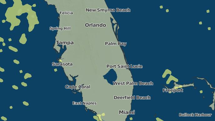 Venus Florida Map.3 Day Severe Weather Outlook Venus Florida The Weather Network
