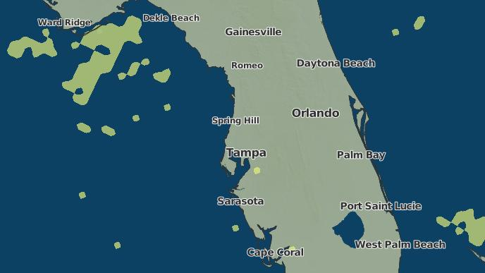 Hudson Florida Map.3 Day Severe Weather Outlook Hudson Florida The Weather Network
