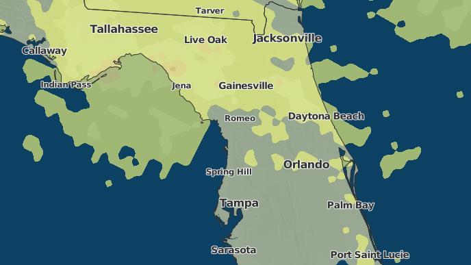 Cedar Key Florida Map.3 Day Severe Weather Outlook Cedar Key Florida The Weather Network