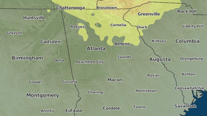 For Atlanta Georgia