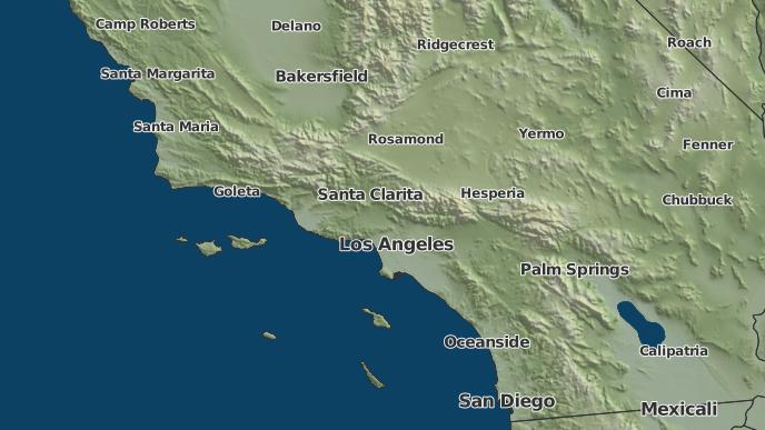 Oak Park California Map.3 Day Severe Weather Outlook Oak Park California The Weather Network