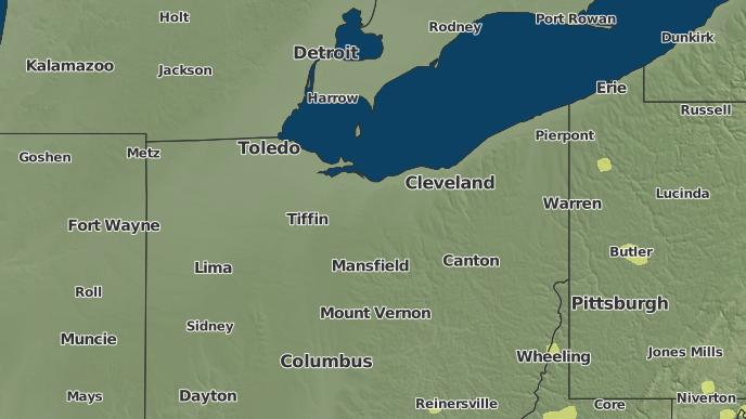 New London Ohio Map.3 Day Severe Weather Outlook New London Ohio The Weather Network