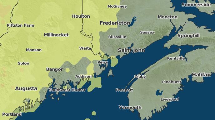pour Saint Andrews, Nouveau-Brunswick