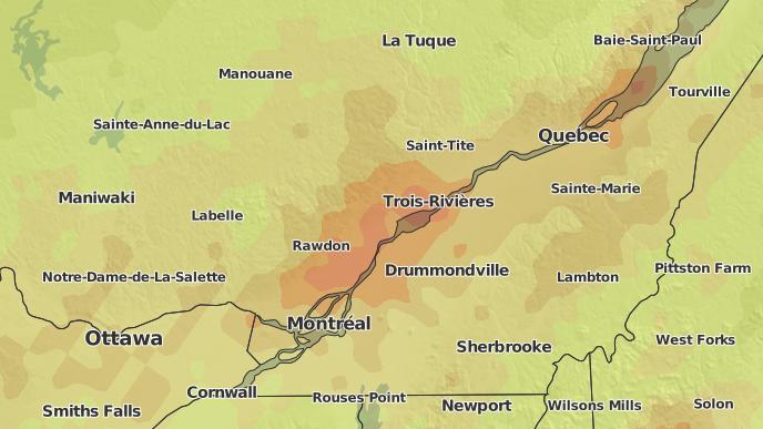 pour Saint-Alexis-des-Monts, Québec